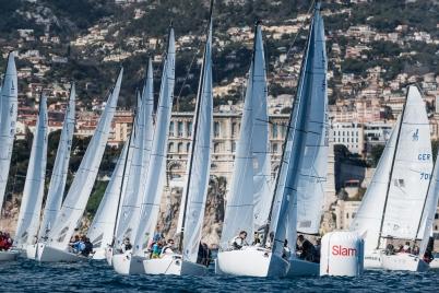 J/70 Monaco Sport Boat Winter Series 5th Act March 2018@mesi_BD
