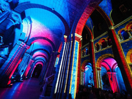 Multisensorial show at Monaco Cathedral for Prince Albert's 60th birthday 2018 @Eric Mathon, Palais Princier