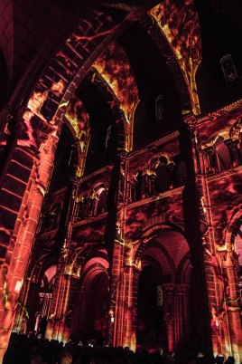 Multisensorial show at the Monaco Cathedral for Prince Albert's 60th birhtday @Eric Mathon, Palais Princier