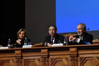 Nadia Ounais, Mounir Bouchenaki and Jerome Clement at RIMM 2018 @Charly Gallo:Direction Communication