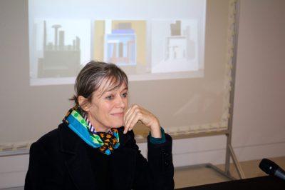 Nathalie Du Pasquier at the NMNM, March 20, 2018 @CelinaLafuentedeLavotha