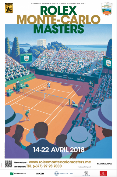 Official announcement of the Rolex Monte-Carlo Masters 2018