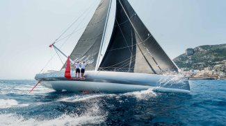 Pierre Casiraghi and Boris Herrmann on board Malizia 2017@Mesi