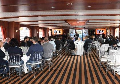 Press Lunch on board L'Excellence in Paris RMCM 2018 @Ciacia
