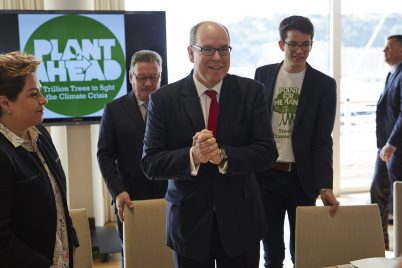 Prince Albert and Felix Finkbeiner in Monaco 2018@Daniel Nückel:Plant-for-the-Planet