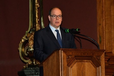 Prince Albert in his inaugural speech RIMM 2018 @Charly Gallo:Direction Communication