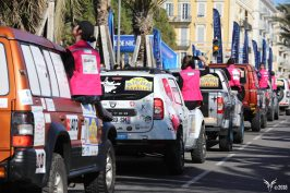 The Rallye Aicha des Gazelles gets underway RAG180317_Nice @Maienga