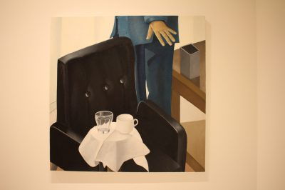 Untitled 2003, Oil on Canvas by Nathalie Du Pasquier, Collection NMNM @CelinaLafuentedeLavotha