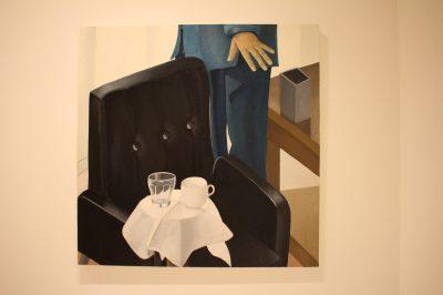 Untitled 2003, Oil on Canvas by Nathalie Du Pasquier, Collection NMNM @CelinaLafuentedeLavotha