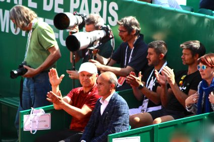 Marian Vajda, Djokovic's longtime coach is back April 1, 2018 RMCM @CelinaLafuentedeLavotha