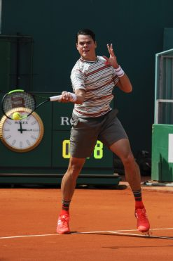 Match Milos Raonic vs Lucas Catarina @Darrasse/Realis/SMETT