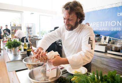 Pablo Albuerne during the super yacht chefs competition at YCM @Messi