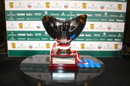 The main trophy of the Rolex Monte-Carlo Masters 2018 @CelinaLafuentedeLavotha