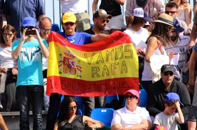 Vamos Rafa, the one and only @CelinaLafuentedeLavotha