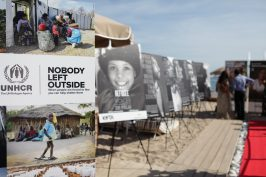 Posters at 2017 IEFTA Honours UNHCR Cannes 70. Photo by KaidiPhotography
