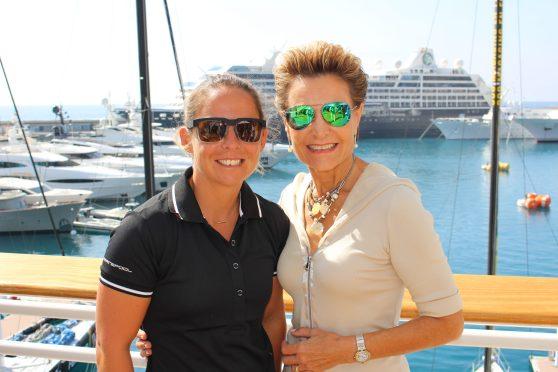 Alexia Barrier with Celina Lafuente de Lavotha @ZsL