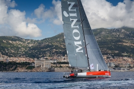 Arrival of MONIN in Monaco, Isabelle Joschke and Alain Gautier, MGS 2018 @mesi_BD