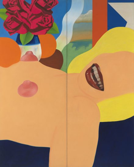 Great American Nude #53, 1964 Tom Wesselmann @The Estate of Tom Wesselmann, licensed by VAGA, NY