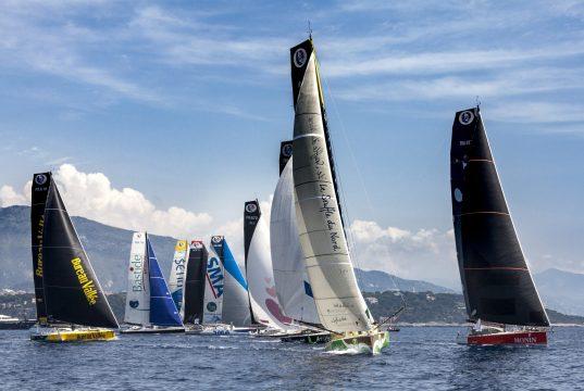The 9 competitors in the Monaco Globe Series 2018