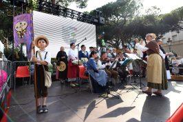 Orchestra from the village of Menton @Direction de la Communication Monaco