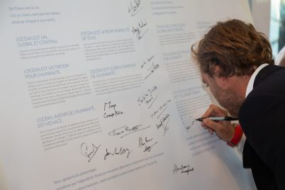 Pierre Casiraghi signs Appeal for the Ocean charter on World Oceans Day @mesi_HD