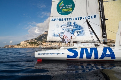 SMA winners of first stage of Monaco Globe Series arriving on June 7, 2018@mesi_BD
