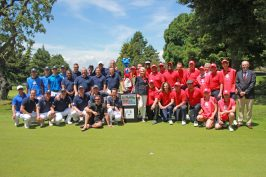 The European and US teams, Monaco US Celebrity Golf Cup @Nancy Heslin
