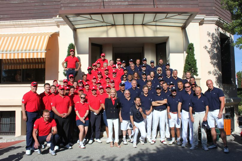 US and European teams during Monaco US Celebrity Golf Cup @Nancy Heslin