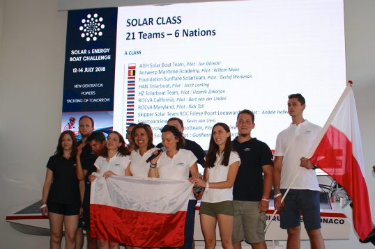 AGH Solar Boat Team YCM 2018@CelinaLafuentedeLavotha
