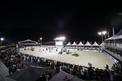 A view of the arena in Monaco@Mario Grassia/LGCT 2018