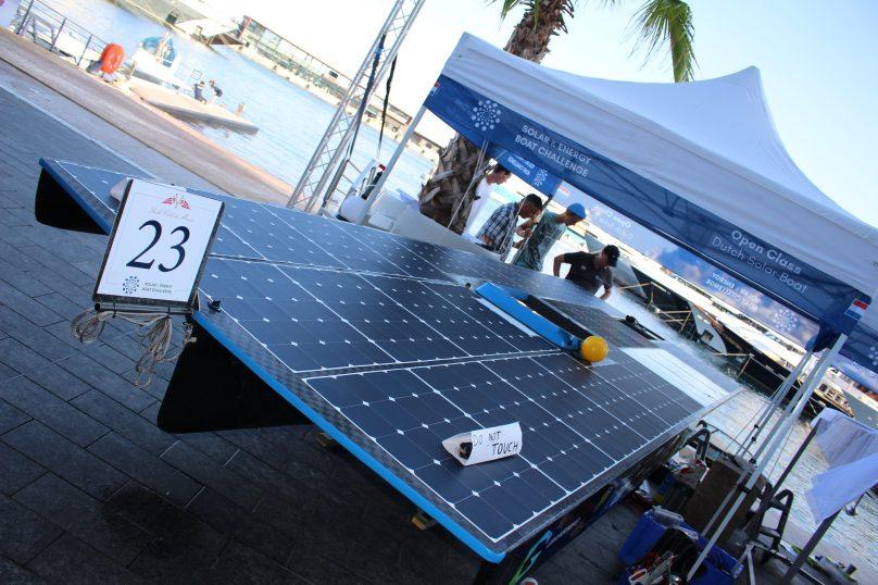 Dutch Solar Boat YCM 2018@CelinaLafuentedeLavotha