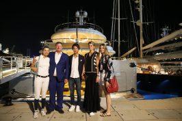 Edwina Tops-Alexander, Jan Tops, Mike Kawai, Athina Onassis and Julia Tops @Stefano Grasso/LGCT