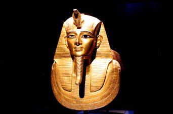 Gold Mask Pharaoh Psousennes 1er, Tanis XXI dynasty @CelinaLafuentedeLavotha