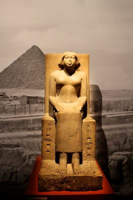 La dame Hekenou, Known to the king, beginning of V2 dynasty, Cairo Egyptian Museum @CelinaLafuentedeLavotha