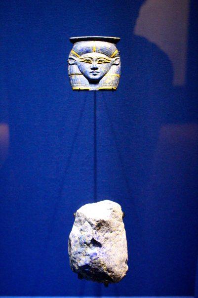 Lapis-lazuli, Minerology Museum in Paris Tech. @CelinaLafuentedeLavotha