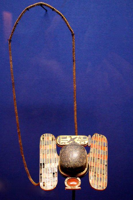 Pectoral pendant Chechonq II, Tanis, Tomb III, vault Psousennes 1er, XXII dynasty @CelinaLafuentedeLavotha