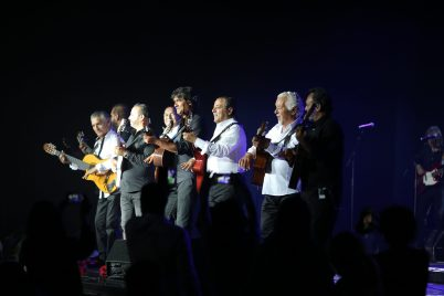 The Original Gypsies group at the Fight Aids Monaco fundraising Gala 2018 @FAM Press