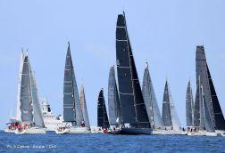 Competitors at departure of Palermo:Monte-Carlo regatta 2018 @Carloni-Raspar CVS