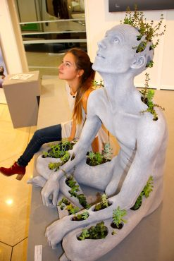 2. Sculpture Prize Helena Di Giovanni, Communion, GemlucArt 2018 @CelinaLafuentedeLavotha