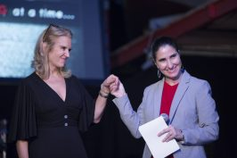Award recipient Yoani Sanchez and Kerry Kennedy @Loic Thebaud