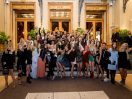 Influencers on the steps of the Opera of Monte-Carlo, 2018© Alain Duprat