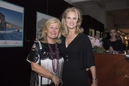 Lia Riva and Kerry Kennedy. @Loic Thebaud