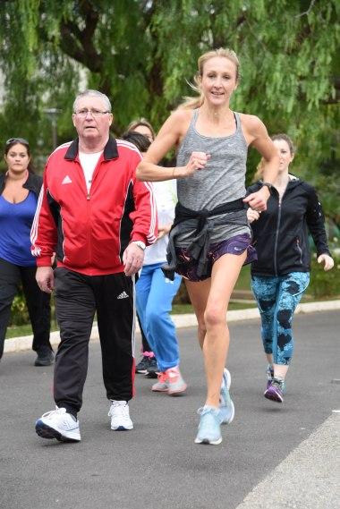 Marathon runner Paula Radcliffe @André Faure