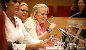 Vibeke Brask Thomsen at the Monaco National Council on October 11, 2018 @MNC