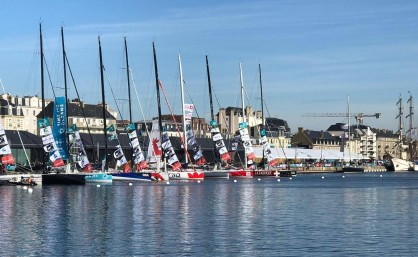 Departure at Saint Malo for the Route de Rhum @RoaminDruenne
