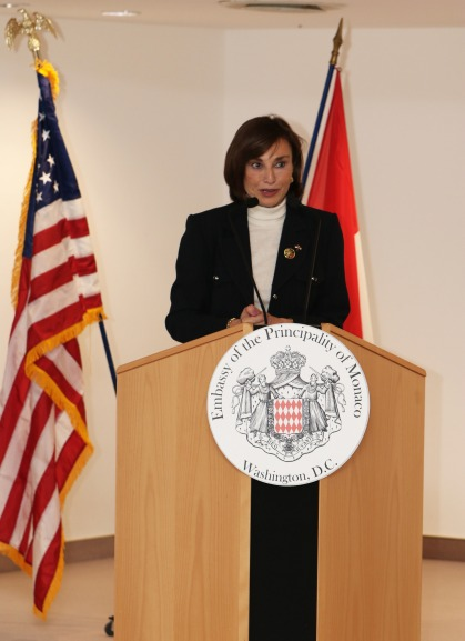Maguy Maccario Doyle, Ambassador ob Monaco to the US and Canada @MonacoMediax