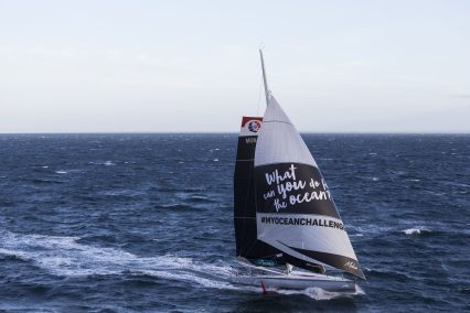 Boris Herrmann on board IMOCA MALIZIA II, training before departure for Route du Rhum @ Jean-Marie LIOT