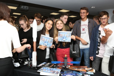 Pioneers and Innovators of our time meeting the students on November 23, 2018 @Monaco Mediax