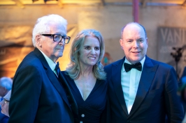 Prince Albert II with Kerry Kennedy and Harry Benson, Monaco 20188 @ Loic Thebaud