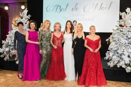 Elisabeth Wessel, Ekatarina Butorina, Inna Maier, HRH Princess Camilla De bourbon des deux-Siciles, Sandrine Knoell-Garbagnati, Lady Monika Bacardi of Bayfield Hall and Roberta Gilardi @Meghann Stanley
